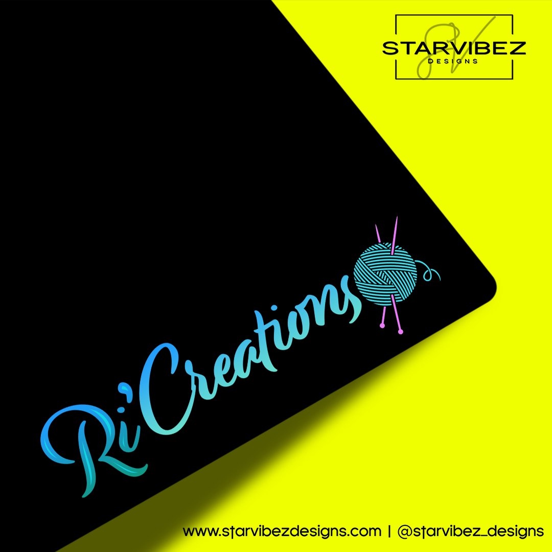 RiCreations Logo Mock Up