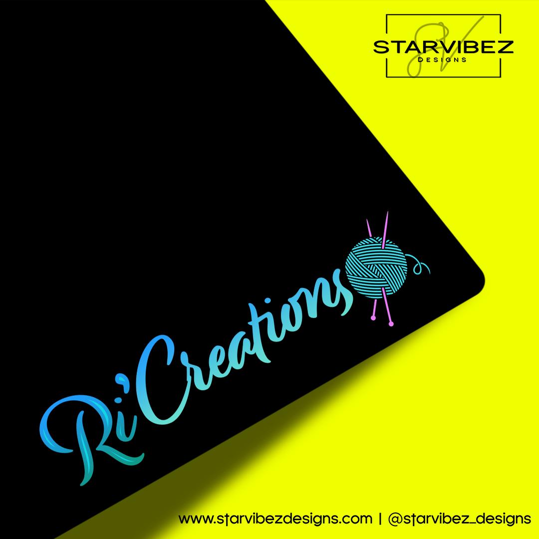 RiCreations Logo Mock Up