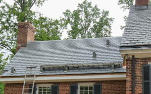 Slate roofing system