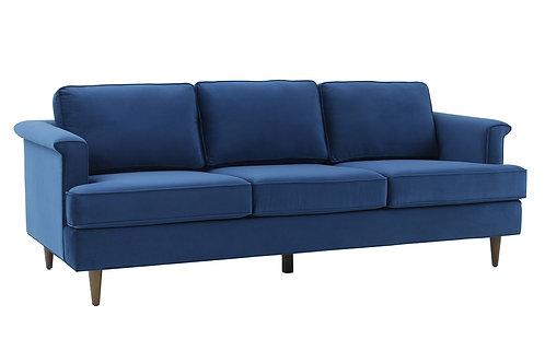 Porter Navy Velvet Sofa