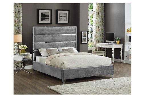 Zuma Velvet Bed (King)
