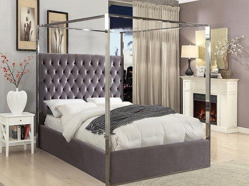 Porter Velvet Bed (King)