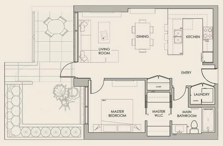 Park Suite Floor Plan