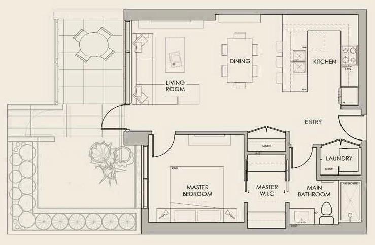 Park Suite Floor Plan