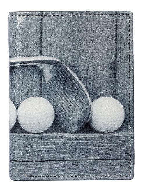 Printed Compact Wallet Golf - RFID