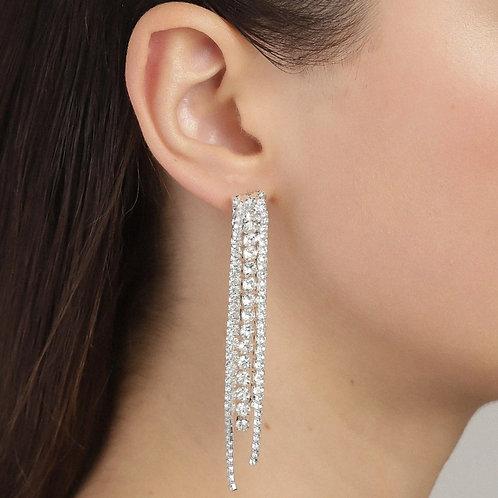 Pilgrim Jewellery - Rachel Crystal Earrings
