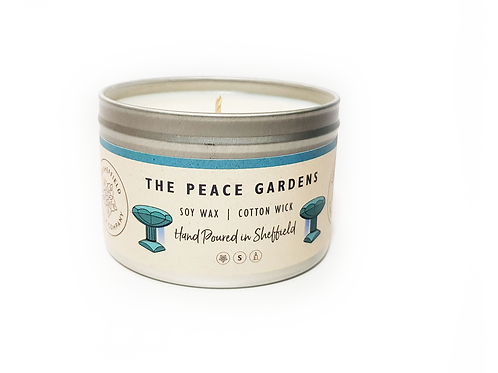 Sheffield Candle Company  - Peace Gardens  LARGE