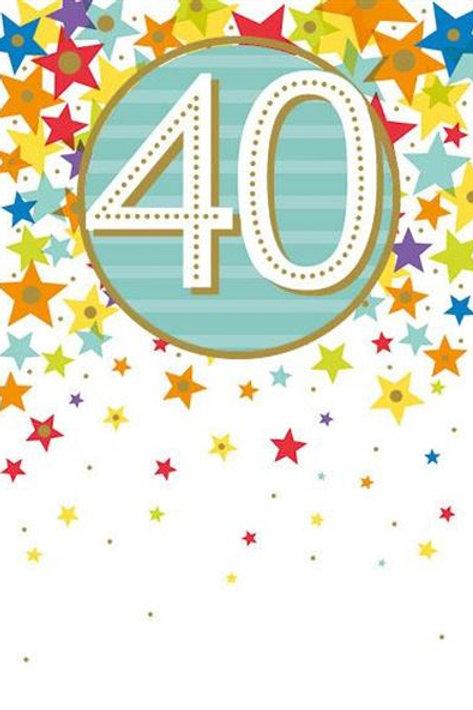 Birthday 40th