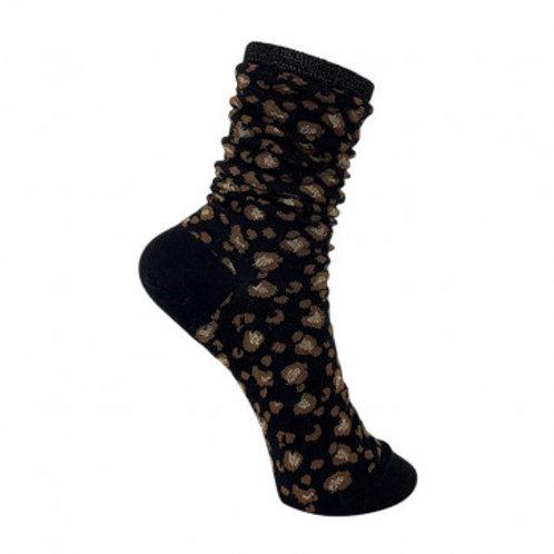 BLACK COLOUR Dk - Zola Leo Socks