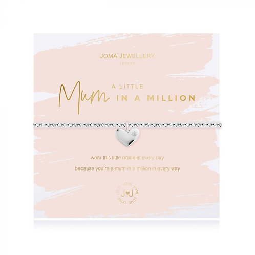 JOMA Beautifully Boxed 'A Littles' Mum In A Million Bracelet