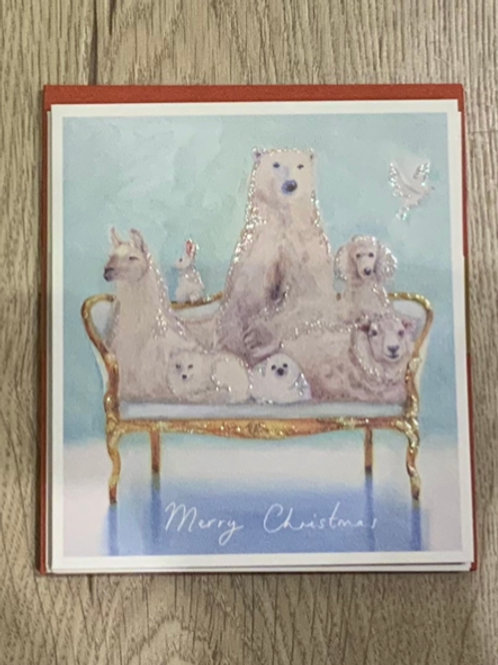 Charity Christmas Card Pack - 5 Cards