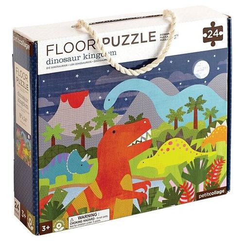 Petit Collage Floor Puzzle – Dinosaur Kingdom