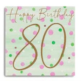 Birthday 80th