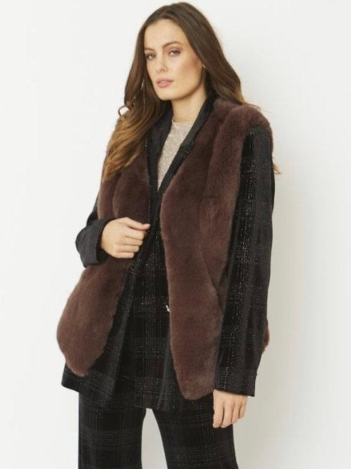 JAYLEY Faux Fur Gilet