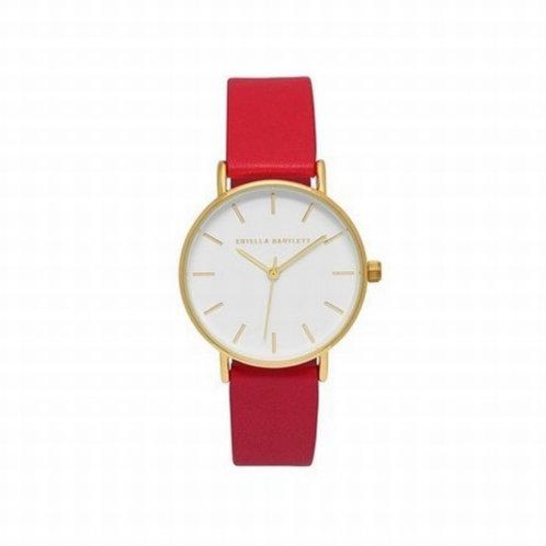 ESTELLA BARTLETT - Faux Leather Watch Coral
