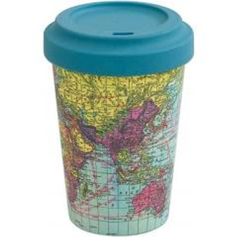 Bamboo Cup Map 400ml