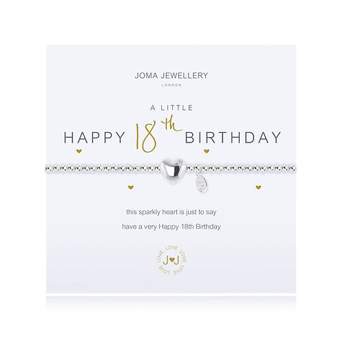 JOMA Happy 18th Bracelet
