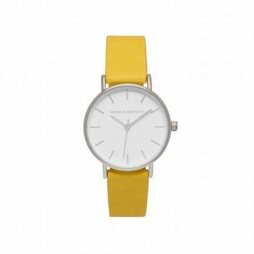 ESTELLA BARTLETT - Faux Leather Watch in yellow