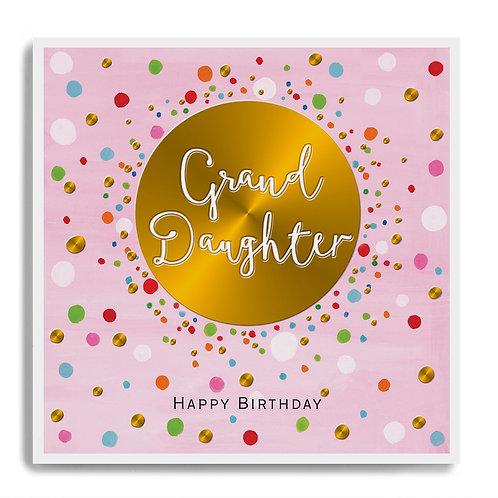 Granddaughter birthday
