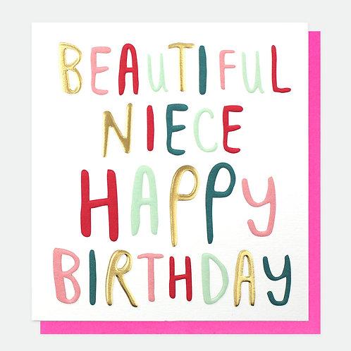 Birthday Niece