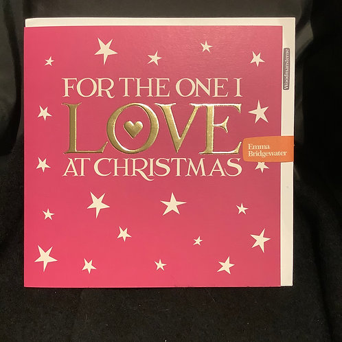 For the one I love at Christmas