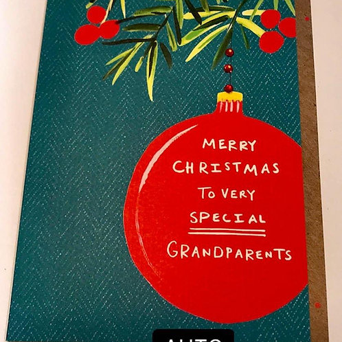Merry Christmas to very special grandparents