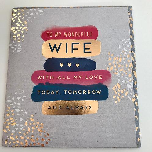 Birthday Wife