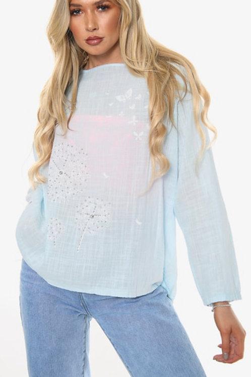 Dandelion long sleeve top