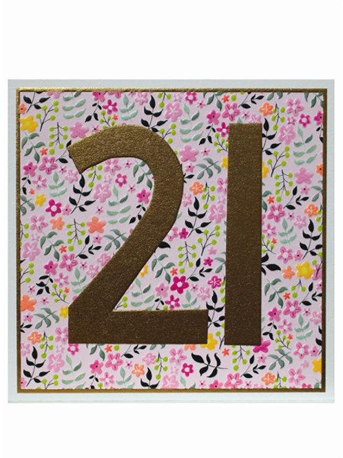 Birthday 21st