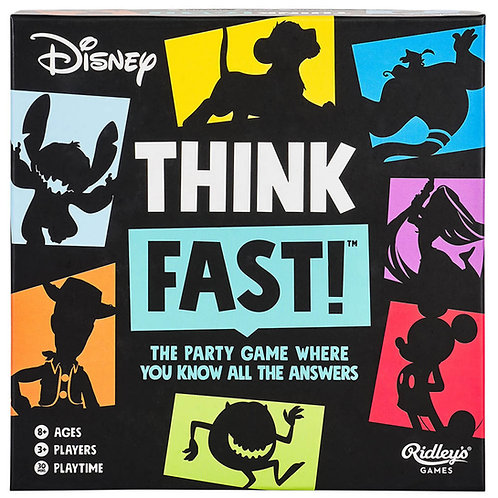 Disney Think Fast Game