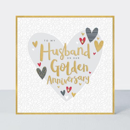 Anniversary - Husband Golden