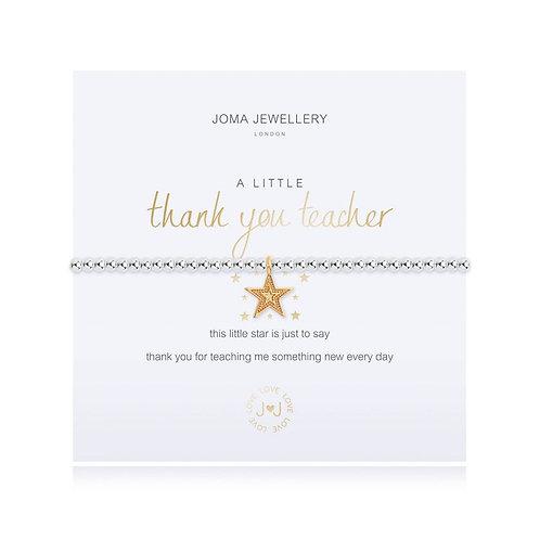 JOMA A Little 'Thank You Teacher' Bracelet