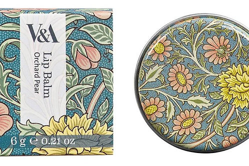 V&A Orchard Pear Lip Balm Tin Wild & Wolf