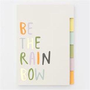 Caroline Gardner - Multi Tab Notebook - Rainbow
