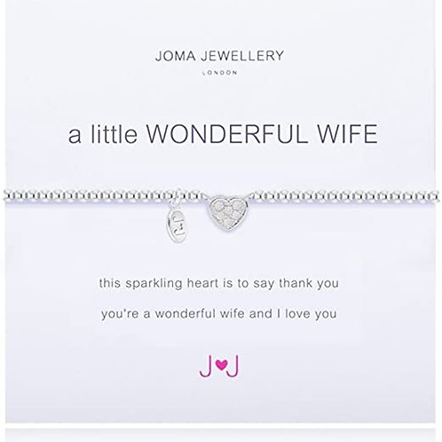 Joma Bracelet Wonderful Wife