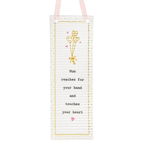 Thoughtful Words Rectangle Plaque - Mum