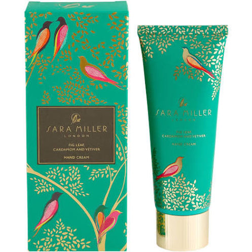 Sara Miller Hand Cream (Fig Leaf, Cardamom  Vetiver)