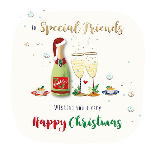 Special friends wishing you a very happy Christmas
