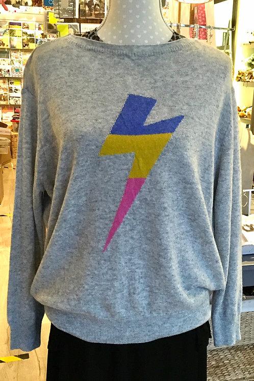 Lightweight Knit sweater  - Grey