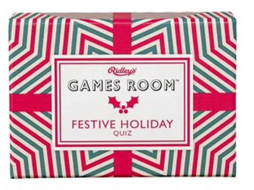 WILD AND WOLF RIDLEYS GAMES ROOM FESTIVE HOLIDAY TRIVIA QUIZ