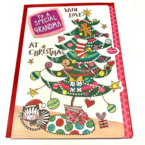 To a special Grandma at Christmas