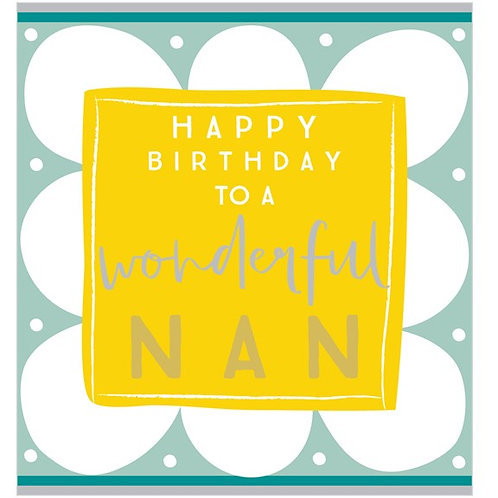 Nan birthday
