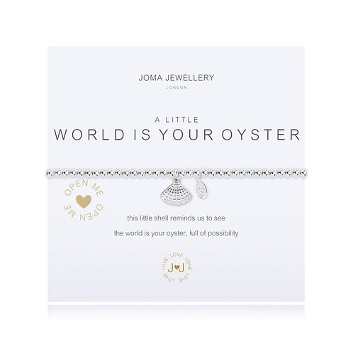 Joma Bracelet World is your Oyster