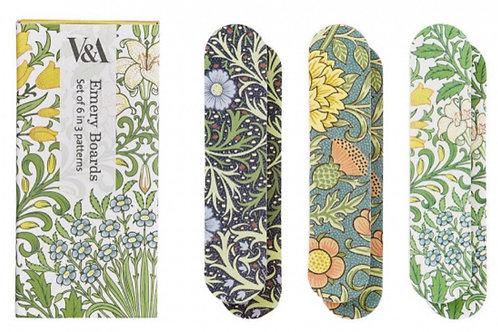 V&A Floral Garden Mini Emery Boards