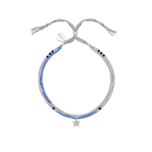 ESTELLA BARTLETT - Phoebe Friendship Bracelet Silver Plated Star Bracelet
