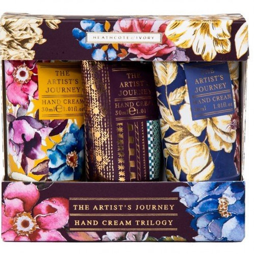 The Artist's Journey Hand Cream Trilogy