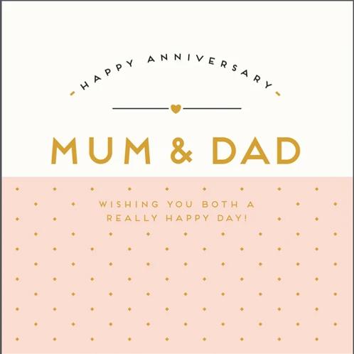 Anniversary - Mum & Dad