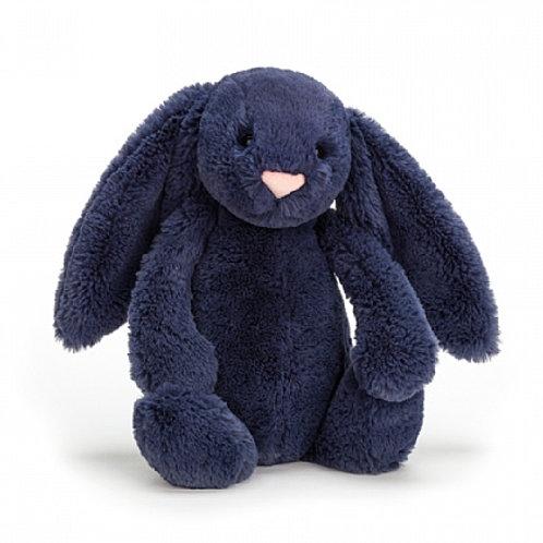 Medium Navy Bashful Bunny