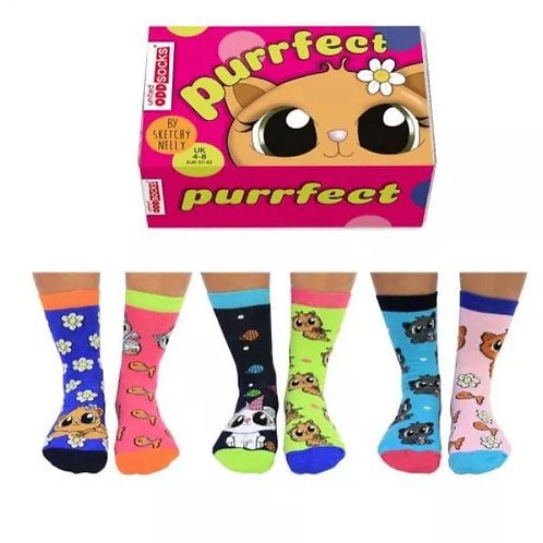 PURRFECT - ODDSOCKS