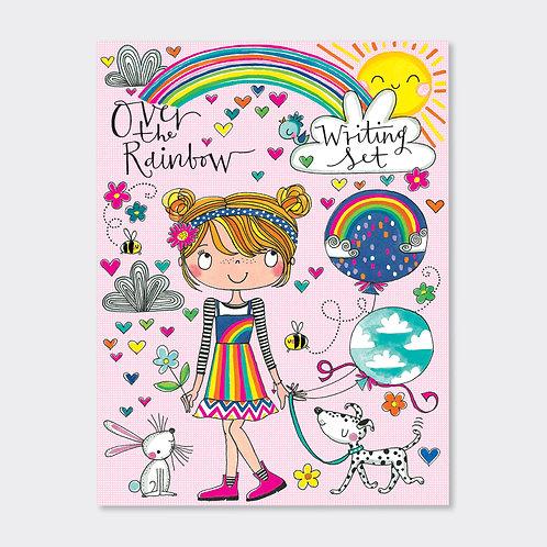 RACHEL ELLEN – Over the Rainbow writing set